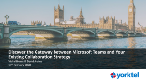 Gateway Webinar For Microsoft Teams